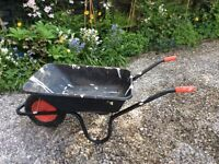 2 x Chillington steel wheelbarrows - 85L Black