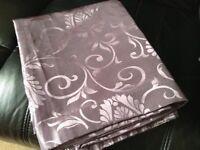 "Pair of Purple Curtains 44"" x 54"""