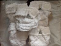 Little Lambs Reuseable Nappies Preloved - Complete Set