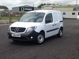 2015 LONG WHEEL BASE MERCEDES CITAN CDI. 1 OWNER WITH ALL THE OPTIONS. PLY LINED AND BULKHEAD FITTED