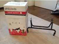 Phil & Teds travel system 4. Car seat adaptor.