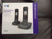 BT Advanced Landline Telephone Z Twin
