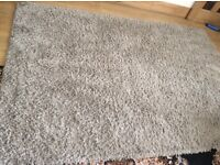 Ikea hampen grey rug