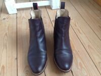 Joules, leather, Chelsea boot