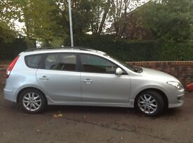 Hyundai i30 1.6 crdi estate,nov 2010