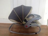 3-in-1 Baby Rocker/Napper/Feeding chair - very good condition from smoke free home