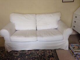 IKEA Ektorp 2 seater sofa white - removable washable covers