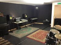 Affordable Music Studio and Rehearsal Space