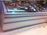 Used commercial deep freezer for sale; presently in use and In excellent working condition.