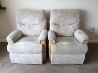 TWO MELTON ARM CHAIR'S