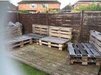 12 Wooden Pallets