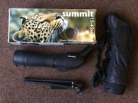 Summit 15-45x60mm Zoom Spotting Scope & Tripod