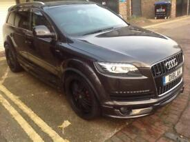 Audi Q7 2010 facelift,full body kit and gas conversion