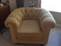 Chesterfield Chairs x 2