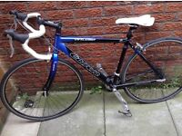 Carrera racing road bike 19 inch frame excellent condition