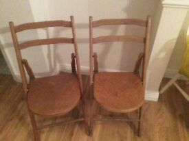SPACESAVING STACKMORE FOLDING CHAIRS