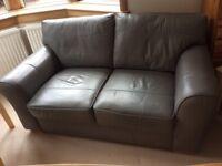 Next Grey Two Seater Sofa