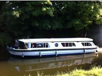 Housboat! Floating, Cruising Apartment For Sale! Bath, Somerset, UK - LiveAboard Cruising Houseboat!