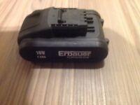 Erbauer 18V battery