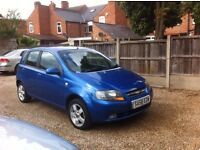 Chevrolet Kalos 1.4 SX 5dr, 12 MONTHS MOT WITHOUT ADVISORY, WARRANTED MILES, FULLY SERVICED