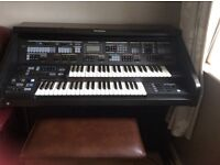 Technics organ plus stool. Very good condition. Selling as need space