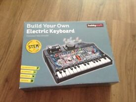 Hobby craft build your own electric keyboard