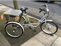 Adult electric tricycle , in ex, cond, able to deliver