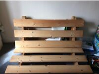 Futon sofa-bed free for collection in Caversham must go today!
