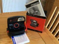Polaroid 600 Extreme Vintage 1990's Instant retro film camera still boxed and spare film.