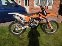 Ktm 350 sxf motocross bike