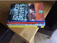 4 books aimed at trainee driving instructors or those keen to better their driving skills.