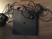 PS4 Black in excellent condition