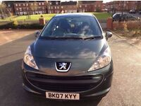 PEUGEOT 207 IN EXCELLENT CONDITION AND 1 YEAR FOR SALE