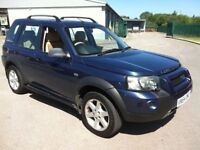 2004 LAND ROVER FREELANDER TD4 HSE DIESEL AUTOMATIC 4X4 **TOP OF THE RANGE**