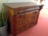 Scottish chest of drawers.