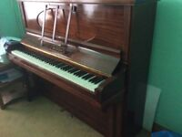 Piano, wooden, upright