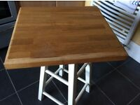 Solid oak chopping board/butchers block
