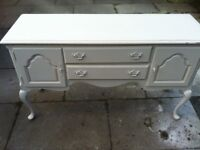 LOUIS STYLE SIDE TABLE -poss shabby chic project-vintage TV STAND