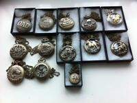 12 assorted pocket watches all different designs brand new