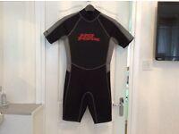 No Fear shortie wetsuit.