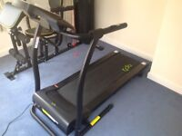 Opti motorised folding treadmill