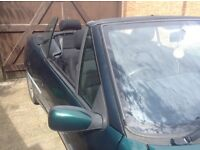 Automatic Peugeot 306 convertible for sale or swap