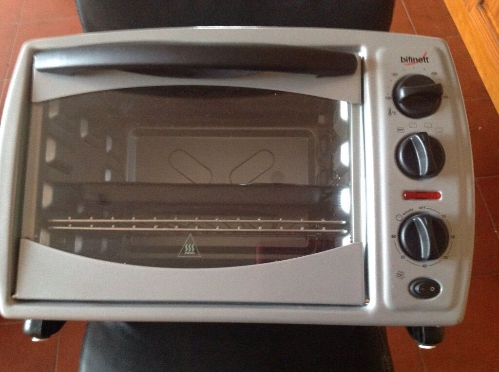 Bifinett kh1139 tabletop oven with grill in dundee gumtree for How to grill fish in oven