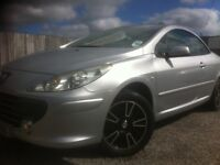 peugeot 307 convertible ( spotless example )