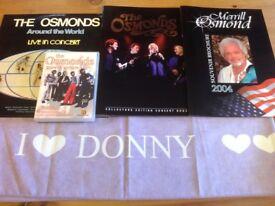 The Osmonds memorabilia