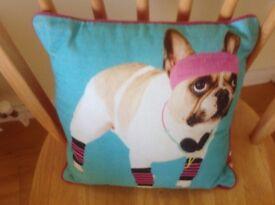 Bull Dog Cushion