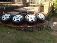 Mercedes alloys and new tyres