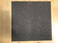 Carpet tiles Grey Heavy Duty