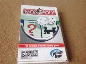 Travel monopoly game