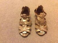 River island girls sandals size UK 2